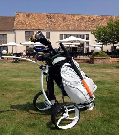 Chariot de golf manuel Néon